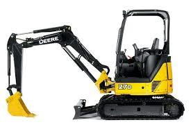 Where to find EXCAVATOR, MINI JOHN DEERE 27D in Sedalia